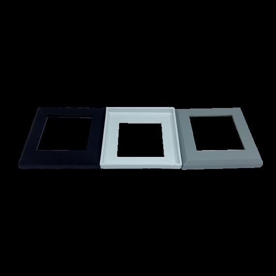 Canopla Quadrada 50 x 50 mm